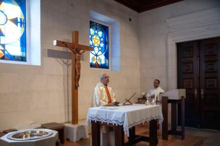 Fatima-Portugal: 12/08/2017 - quddiesa bil-malti fil-Kappella tal-Anġlu tal-Paċi, qrib is-Santwarju