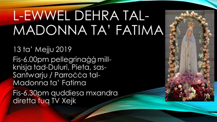 L-Ewwel dehra 2019