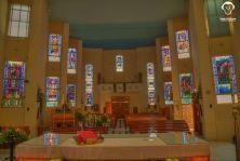 Knisja Fatima minn fuq l-altar